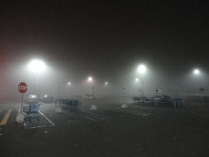 Fog at 3 AM