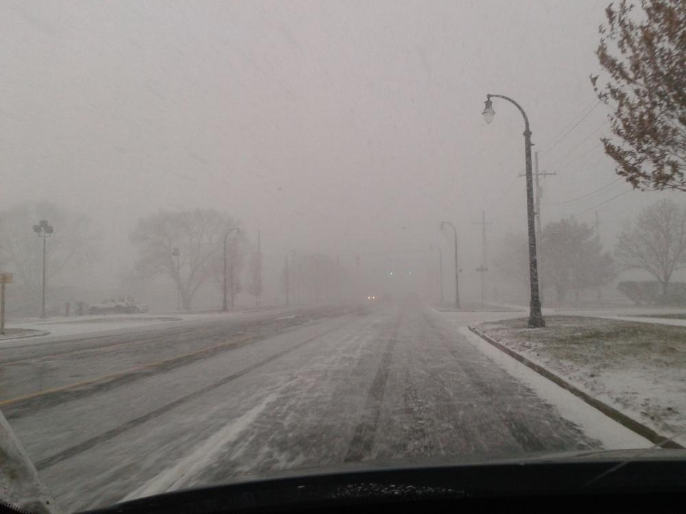 Snowy Drive In