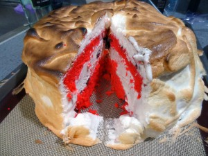 Cross-Section of Baked Alaska