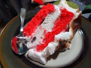 Slice of Baked Alaska