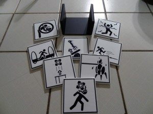 Warning Sign Coasters