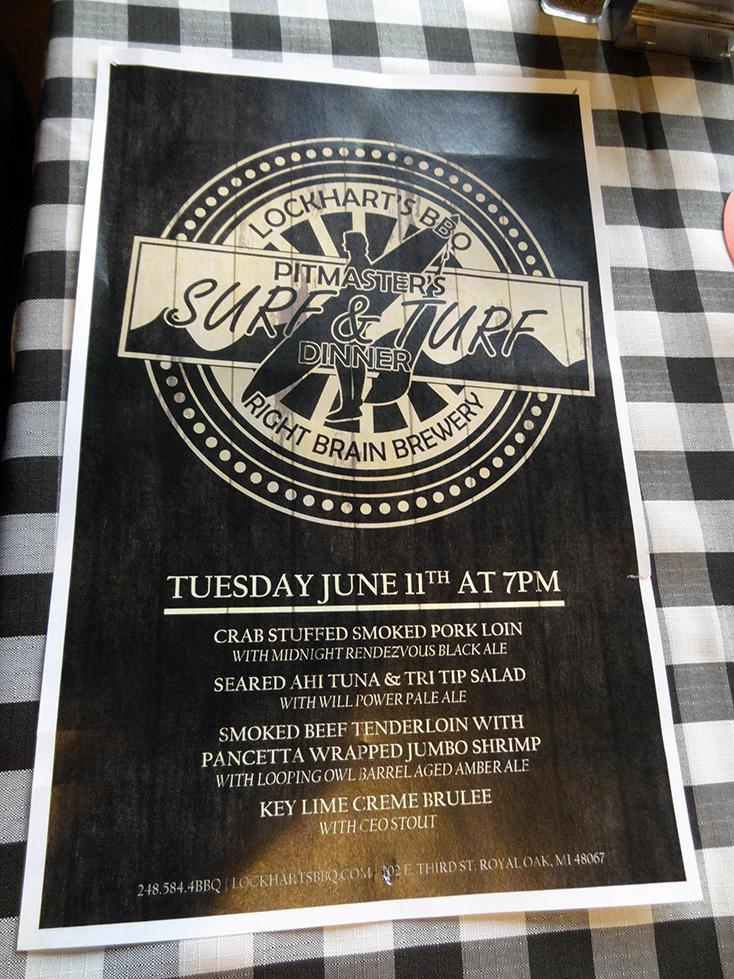 Lockhart's BBQ Pitmaster's Dinner: Surf & Turf • June 11th, 2013 (1/6)
