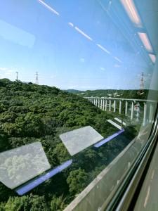 On the MRT to Taipei